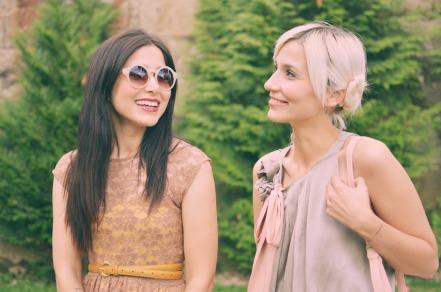 Marlene (à esquerda da imagem) e Diana (à direita)