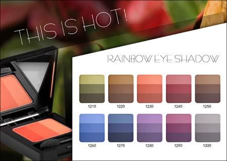 Sombras Rainbow da Inglot