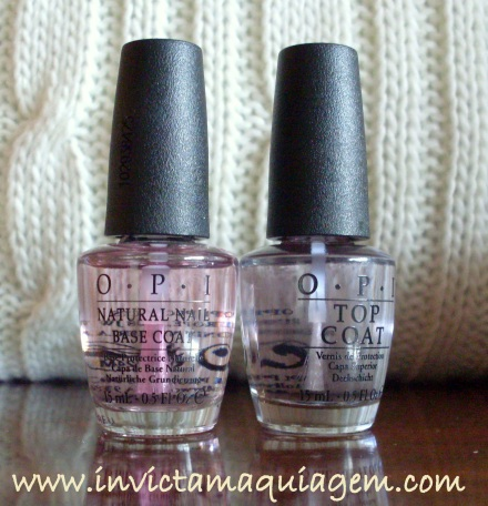 OPI - Natural Nails Base Coat & Top Coat