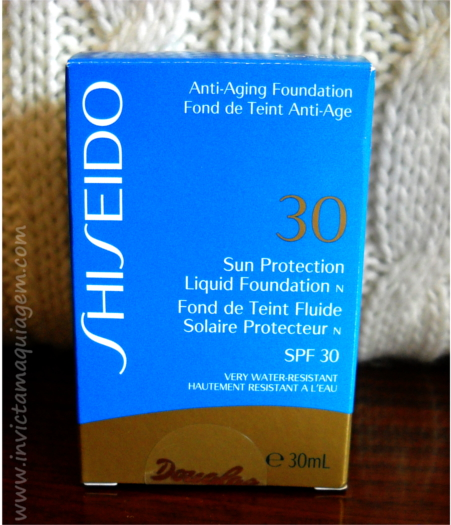 Base Sun Protection Liquid Foundation da Shiseido