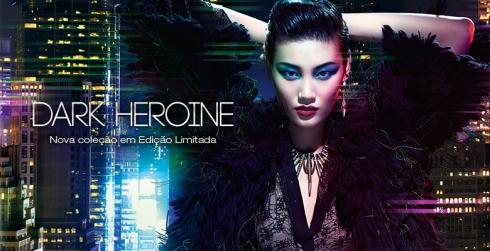 dark heroine kiko milano makeup maquilhagem maquiagem