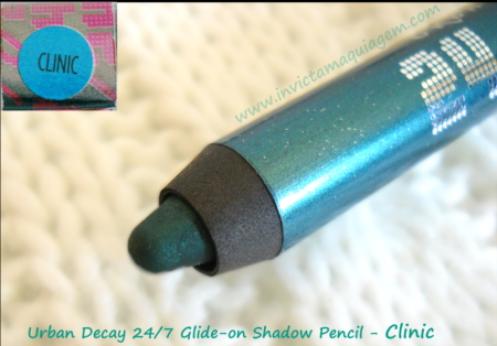 Urban Decay 24/7 Glide-on Shadow Pencil Clinic